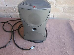 Polycom Vsx Video Conferencing Equipment 7000 Sub Woofer Works