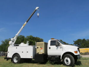 Ingersoll Rand Air Compressor Diesel Crane Backhoe Utility Truck Service 54 Pics