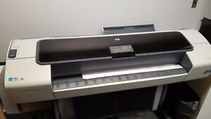 Hp Designjet T1100ps 44 in Large Format Color Printer Plotter