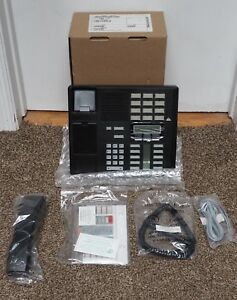 New unused Nortel Norstar M7310 Black Phone m7208b