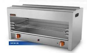 Sierra Range 36 Inch Propane Lp Gas Cheese Melter With Infrared Burner Nsf 3ft