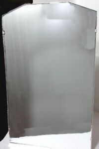 Vtg 1941 Right Hinged Flush Mount Metal Medicine Cabinet