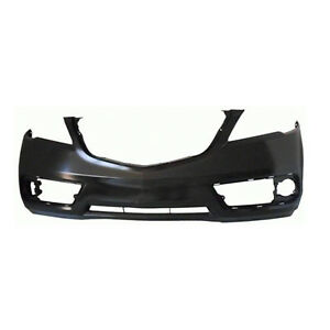 Fits 2013 2015 Acura Rdx Front Bumper Cover Ready For Prime paint 101 59172 Capa