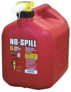 No spill 5 gallon Poly Gas Can carb Compliant