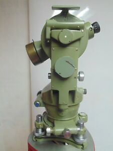 Theodolite Wild Heerbrugg T1 Vintage Serial 56177 Surveying Instrument