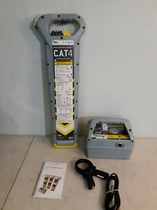 Radiodetection Ecat4 Kit Data Logging Model With Genny4 And Bag Brand New