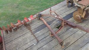 Three point Hitch Post Hole Digger With 12 Heavy Duty Auger Used