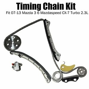 Timing Chain Kit Fit 07 13 Mazda 3 6 Mazdaspeed Cx 7 Turbo 2 3l Mps L3k9