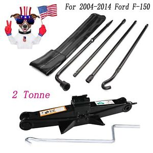 Repair Spare Tire Tool For Ford 2004 2014 F150 And Scissor Jack Black Steel New