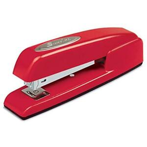 Staplers 747 Business Manual 25 Sheet Capacity Desktop Rio Red Case Of 6