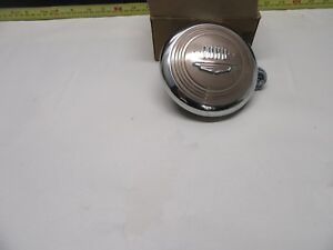 1949 1950 Ford Deluxe Steering Wheel Horn Button Nos Mint 8a 14308