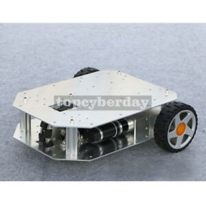 2wd Rc Car Chassis Kit Assemble 500 pulse Photoelectric Encoder Electric Control