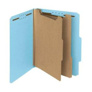 Smead 100 Recycled Pressboard Classification File Folder 2 Dividers 2