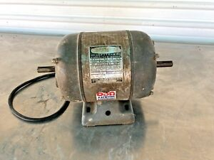 Vintage Craftsman 3 4 Hp Capacitor Electric Ac Motor 3450 Rpm Dual Shaft 1157167