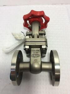 New Aloyco 3 4 Stainless Steel Flanged Gate Valve Class 150 117s J23