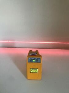 Pacific Laser Systems Pls180 tool Laser Line plumb level square W Case