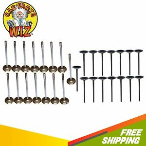 Exhaust And Intake Valves Fits 61 77 Ford Custom 6 4l V8 Ohv 16v Cu 390
