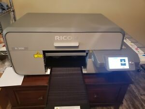 Anajet ricoh Ri 3000 Direct To Garment Printer For T shirts Hats Shoes Other