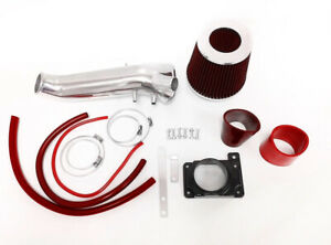 Red Air Intake Kit For 1995 1999 Mitsubishi Eclipse Gst Gsx Spyder 2 0 Turbo