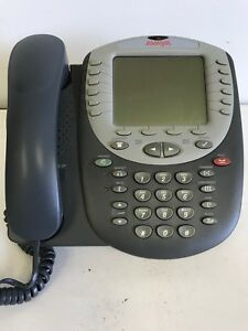 Lot Of 3 avaya 4620sw Ip Phones 2 With Stands 1 Without