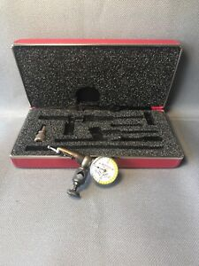 Starrett No 711 Last Word Dial Test Indicator 001 Divisions With Case
