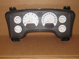 2008 08 Dodge Ram 1500 Truck W one Touch Drivers Window Speedometer Cluster 90k