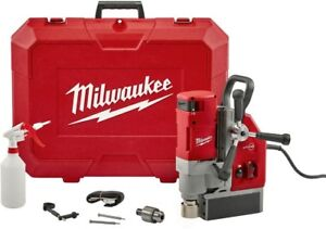Milwaukee 13 Amp 1 5 8 In Electromagnetic Drill Kit Fastest Drilling And Amp