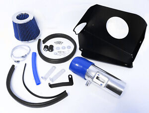 Blue Heat Shield Cold Air Intake Kit Filter For 2007 2012 Nissan Altima 3 5 V6