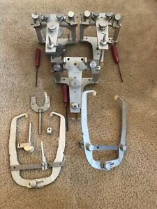 3 Whip Mix Dental Articulator Model 8500 With Face Bow Sold As Lot