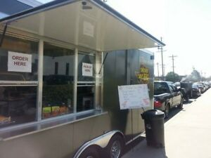 Custom Built For Success Catering Concession Food Trailer