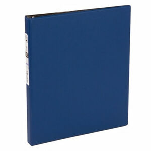 New Avery 1 2 Blue Economy Round Ring Binders 12pk Free Shipping