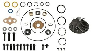 6 0l 05 5 07 Ford Powerstroke Turbo Rebuild Kit Cast Wheel