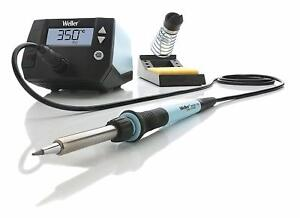 Digital Soldering Station Iron 70w Heat Resistant Silicon Cable Sponge Weller Us
