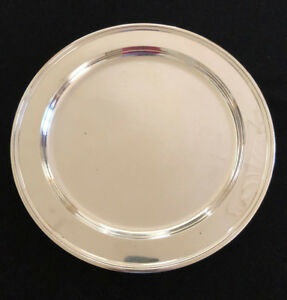 Tiffany Co 13 Sterling Silver Round Tray