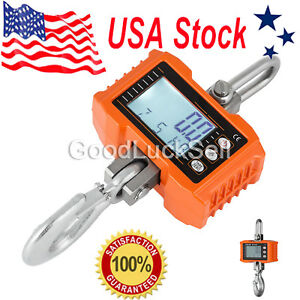 1000kg 1ton 2000lbs High Precision Digital Crane Scale Heavy Duty Hanging Ocs s