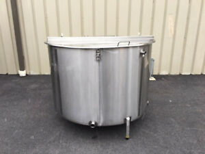 Process Equipment 400 Gallon Stainless Steel Tank Foodgrade