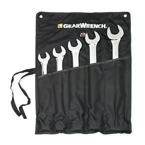 Gearwrench 81921 5 Piece Large Add on Combination Wrench Set Sae