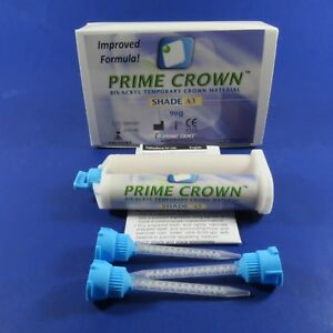 Dental Temporary Crown Kit 90 Grs Shade A3 Prime Dent Improved Formula