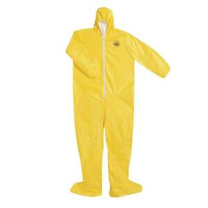 Dupont Tychem Qc 2000 Size 3xl Protective Coverall Suit W Hood