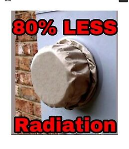Rf Smart Meter Shield Protector Cover Reduces 80 Of All Rf Emf Radiation