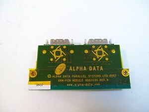 Alpha Data Xrm fcn Module Card Ad01135 Rev 4 Used Free Shipping