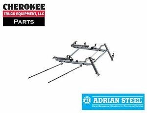 Adrian Steel Ddlr63fth Double Sided Ladder Rack For Ford Transit High Roof