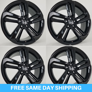 New 20 Hfp Accord Sport Gloss Black Wheels Rims Fits Honda Acura Set Of 4