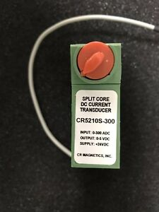 Cr Magnetic Cr5210s 300 Split Core Dc Current Transducer With Cable