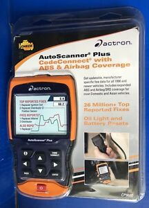 Actron Cp9680 Autoscanner Plus Obd Ii abs airbag Scan Tool W Color Screen New
