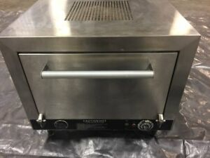 Commercial Pizza Oven Nemco 6205 240 Counter Top Double 19 Stone Deck 240v