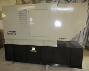 50 Kw Diesel Generator Perkins 4 236t Single Or Three Phase Magnetek 120 240 480