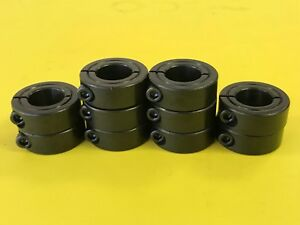 10pcs 35mm Single Split Shaft Collar Black Oxide Finish 1msc 35 Metric