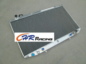 For Lexus Gs300 toyota Aristo Jzs147 2jz ge 3 0 At 1991 1997 Aluminum Radiator