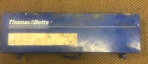 Thomas Betts Tbm8s Ratchet Compression Crimping Tool Shure Stake